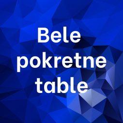 Bele pokretne table