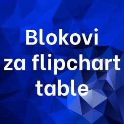 Blokovi za flipchart table