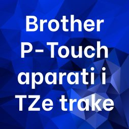 Brother P-Touch aparati i TZe-trake