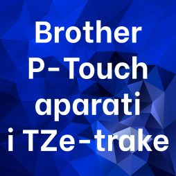 Brother P-Touch aparati i TZ-trake