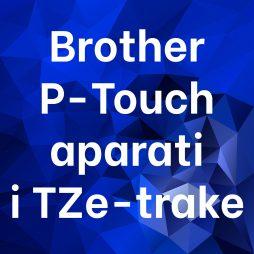 Brother P-Touch aparati i TZ-trake