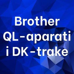 Brother QL-aparati i DK-trake