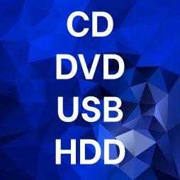 Cd Dvd Usb Hdd
