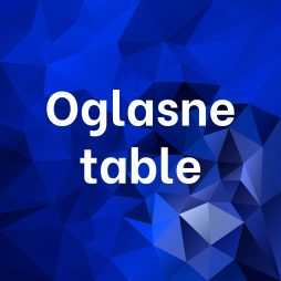 Oglasne table