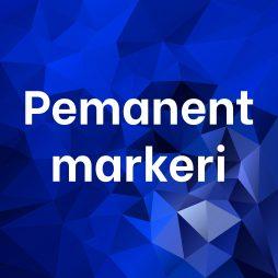 Permanent markeri