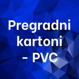Pregradni karton - pvc