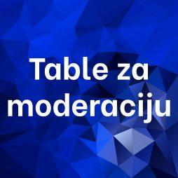 Table za moderaciju