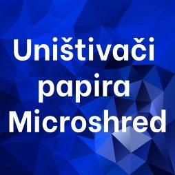 Uništivači papira Microshred