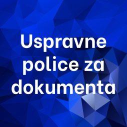 Uspravne police za dokumenta
